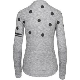 AGU Essential Dot Longsleeve Jersey Women melange dove grey